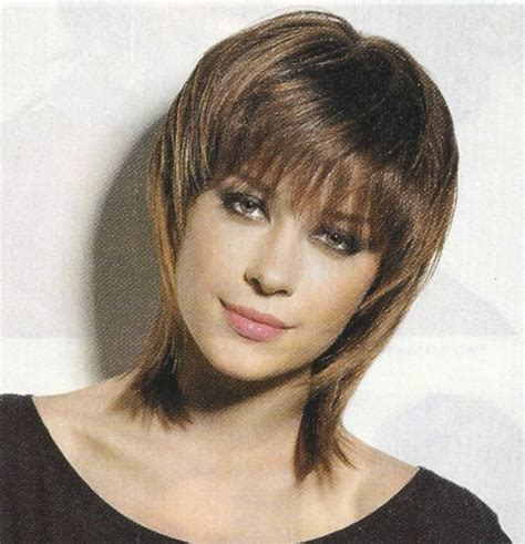 shag hairstyle pictures with v back cut shag hair cut cute shoulder length shag haircut picture