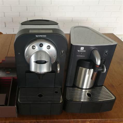 nespresso gemini nespresso gemini cs100 cappuccinatore cs20 for sale