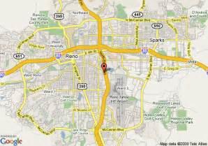 map of rodeway inn reno reno