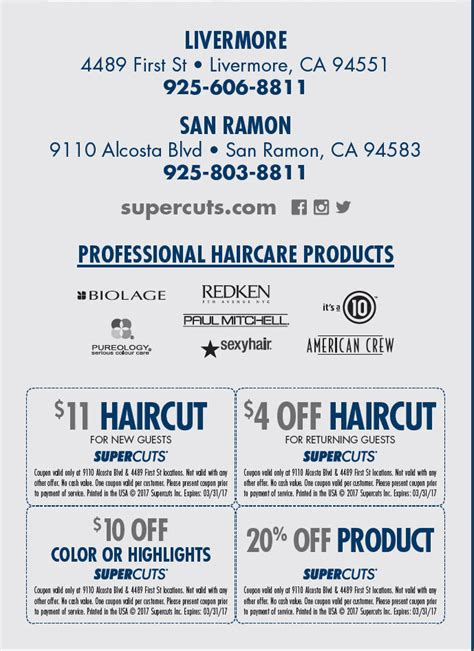 supercuts coupons 15 haircuts at supercuts in alpine alpine community