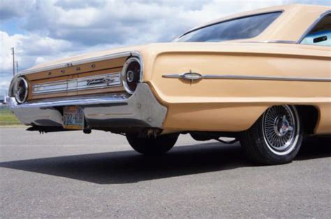 find used 1964 ford galaxie 500 xl z code 390 real solid fresh paint in tacoma washington