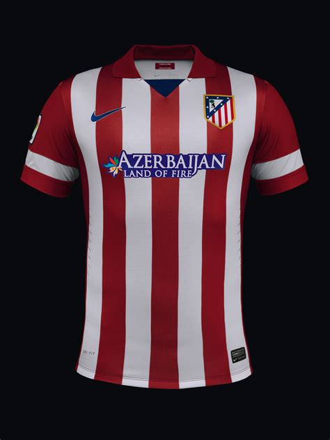Atletico Madrid Home 1518 atletico madrid unveil new home and away kits for 2013 14 season nike news