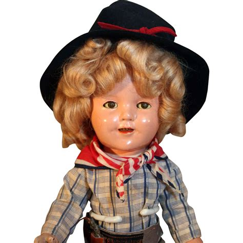composition doll 13 shirley temple 13 quot composition doll dressed in the