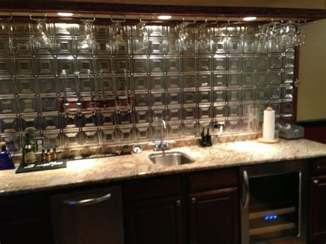 Bar Backsplash Ideas by Cheap Bar Backsplash Bar Ideas