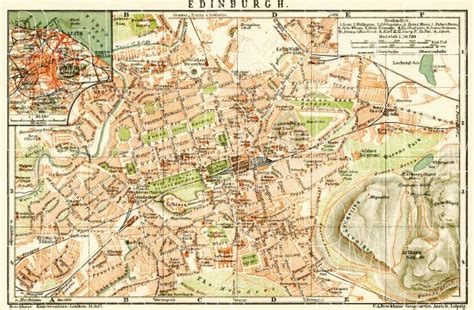 edinburgh mapping the city 1780272456 old map of edinburgh and edinburgh vicinity in 1899 buy