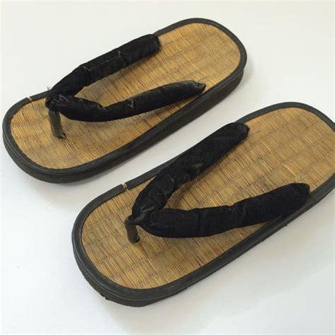 8 Fab Flip Flops by 70s Zori Sandals Japanese Wedge Flip Flops By