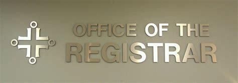 office of the registrar benedictine chicago catholic