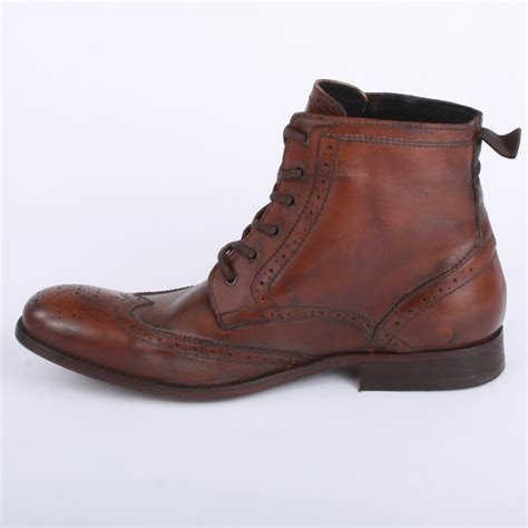 h by hudson angus mens ankle boots in