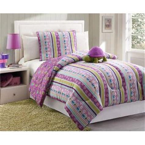 purple striped comforter furry friends turtle stripe purple comforter set