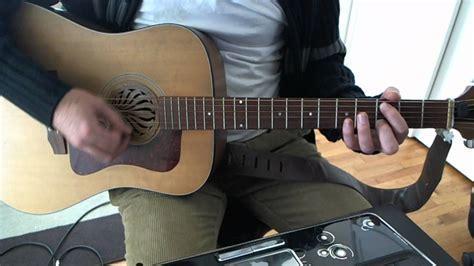 swing life away guitar tutorial swing life away acoustic guitar solo lesson rise