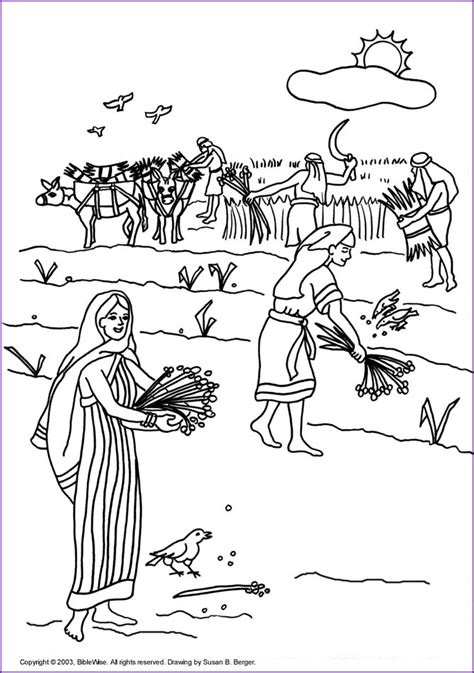 free bible coloring pages ruth print version ruth coloring page korner biblewise
