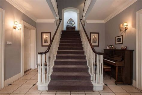 Georgian Stairs Design Classical Neo Georgian Country House With Coach House Courtyard And Tennis Court Des