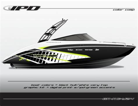 boat captain graphics ipd graphics introduces yamaha jet boat graphic kits for