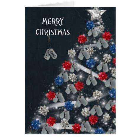 printable military greeting cards military merry christmas greeting card zazzle