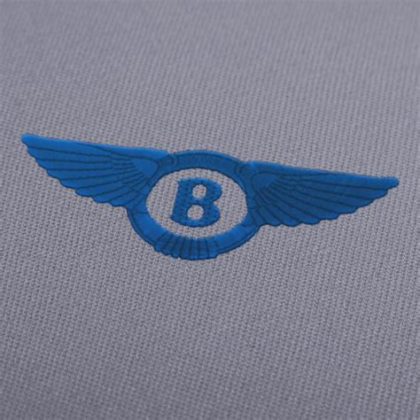 bentley motors logo embroidery design bentley motors logo