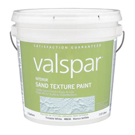 shop valspar interior flat sand texture tintable tintable base paint actual net contents