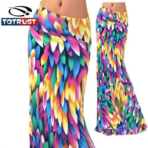 aliexpress buy totrust 2017 summer flower skirt