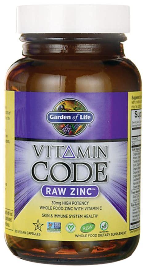Garden Of Zinc Best Vegan Zinc Supplements