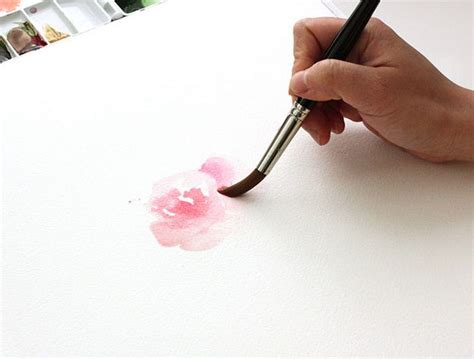 watercolor tutorial tumblr 659 best images about watercolor flowers on pinterest