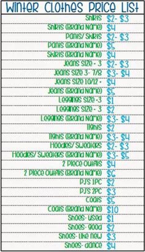 yard sale pricing guide | free printable | pure & simple