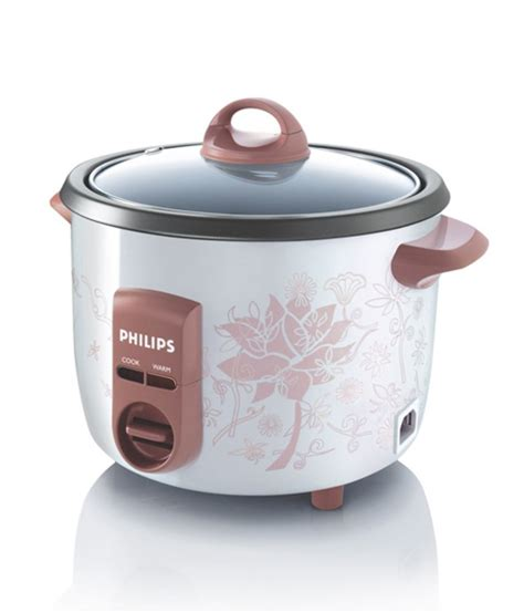 Philips Rice Cooker Hd 4743 philips 1 l hd4711 60 rice cooker white price in india