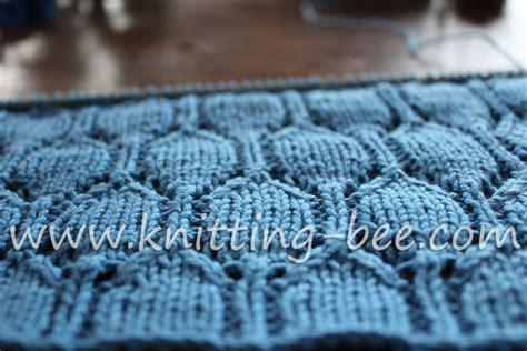 the pattern library knitting oval lace pattern free knitting stitch knitting bee