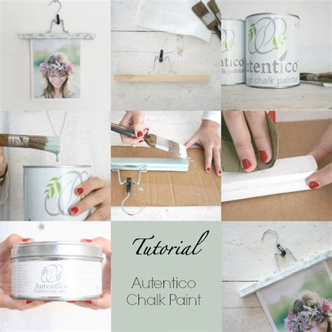 chalk paint tutorial italiano crea decora recicla by all washi autentico chalk