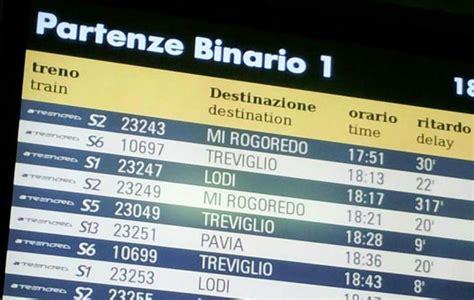 sciopero treni 26 e 27 novembre fascia 6 trenord sciopero dei treni ritardi e cancellazioni