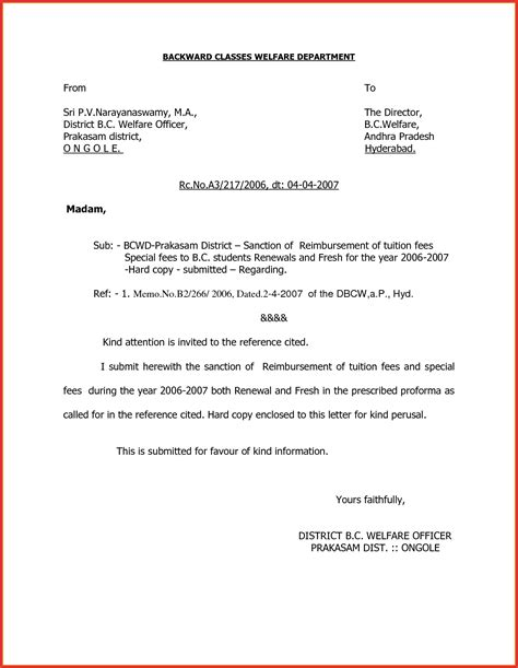 Business Letter Attn Re business letter format with attention line 28 images