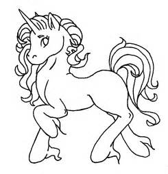 winged unicorn colouring pages