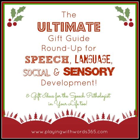 ultimate gift guide round up for speech language social