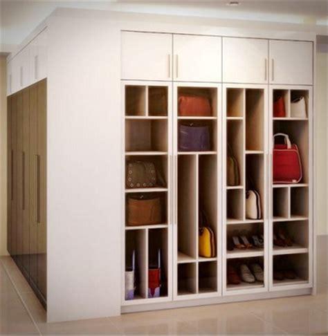 cara membuat rak dinding keren 13 gambar rak tas minimalis keren rumah impian