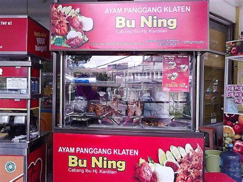 Ayam Panggang Klaten Bu Ning kelezatan ayam panggang khas klaten racikan bu ning jogja