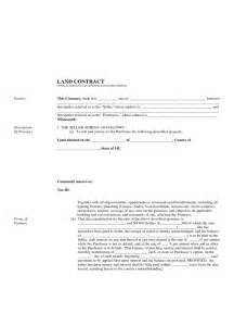 Land Contract Form   5 Free Templates in PDF, Word, Excel