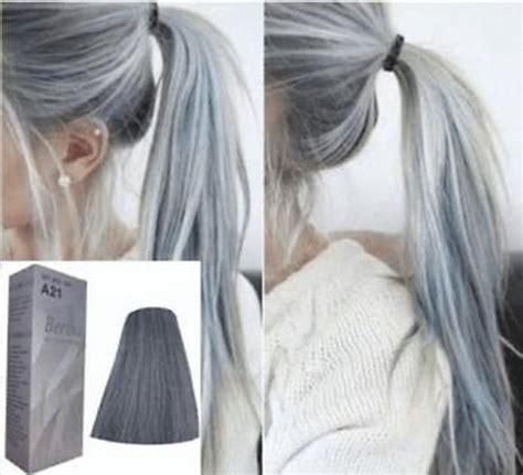 berina hair professional permanent hair dye color cream grey color noa ebay