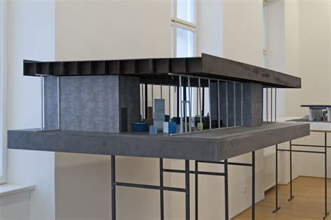 Eichler Hosue penccil architectural models by peter zumthor