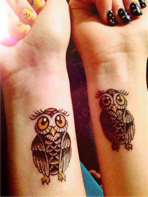tattoo owl wrist owl tattoo on wrist bff tattoo tats pinterest