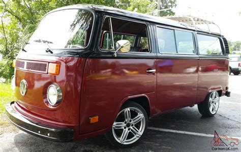 custom volkswagen bus vw bus transporter passenger van custom fully restored