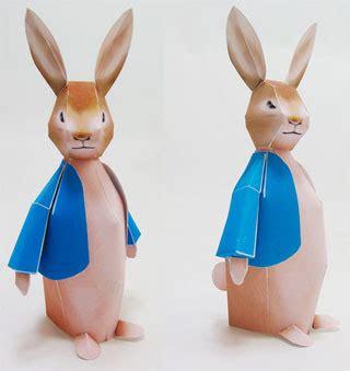 Rabbit Papercraft - rabbit papercraft paperkraft net free papercraft