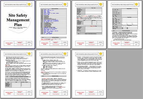 safety plan template 100 plan word template it audit plan