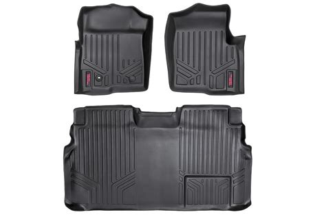 1 Front Floor Mats - heavy duty fitted floor mat set front rear for 2009 2010
