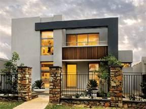 Modern Two Story House Two Storey Villas Modern Two Storey House Designs Two