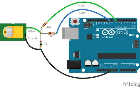 can a resistor out arduino composite out using only 3 resistors my wiki