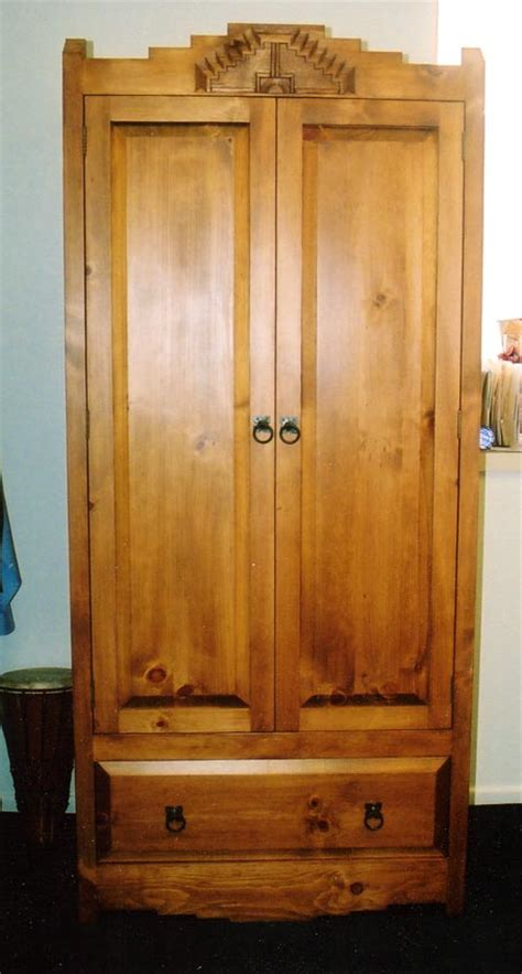 tall tv armoire spanish colonial armoires