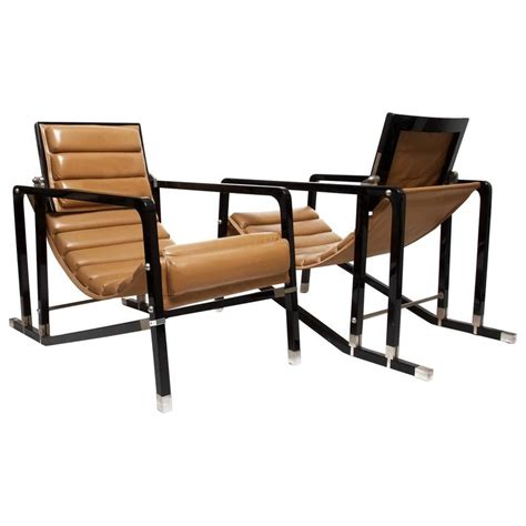 eileen gray armchair eileen gray pair of transat chairs by andr 233 e putman