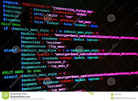 language de langage de programmation de site web photo stock image