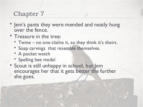 theme of chapter 7 of to kill a mockingbird quot to kill a mockingbird quot chapters 1 31 notes