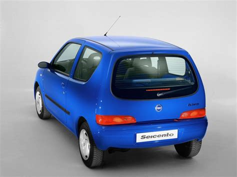 fiat seicento technical specifications and fuel economy