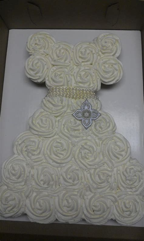 bridal shower cupcakes in shape of wedding dress cupcakes shaped like a wedding dress how big of a board for 28 cupcakes cakecentral