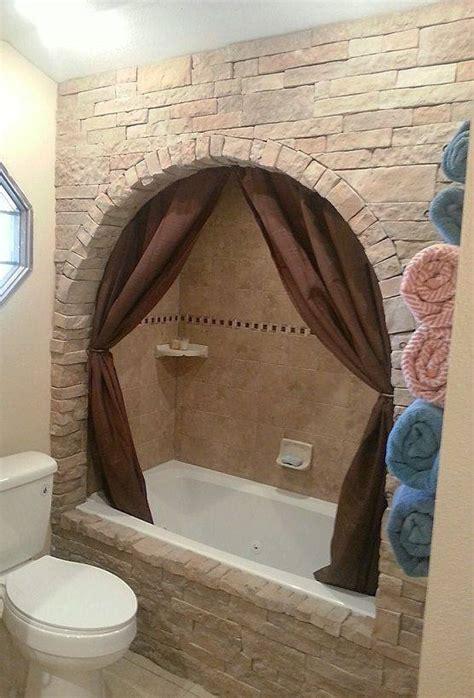 easily update  boring built  bathtub  faux stone